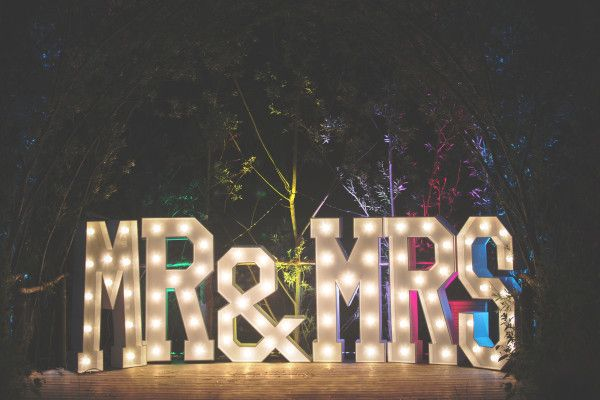 Light Up Letters for Hire  Mighty Fine Entertainment