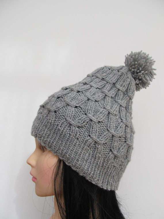 Check out this item in my Etsy shop https://www.etsy.com/listing/192767893/knitted-hat-beret-grey-women-winter