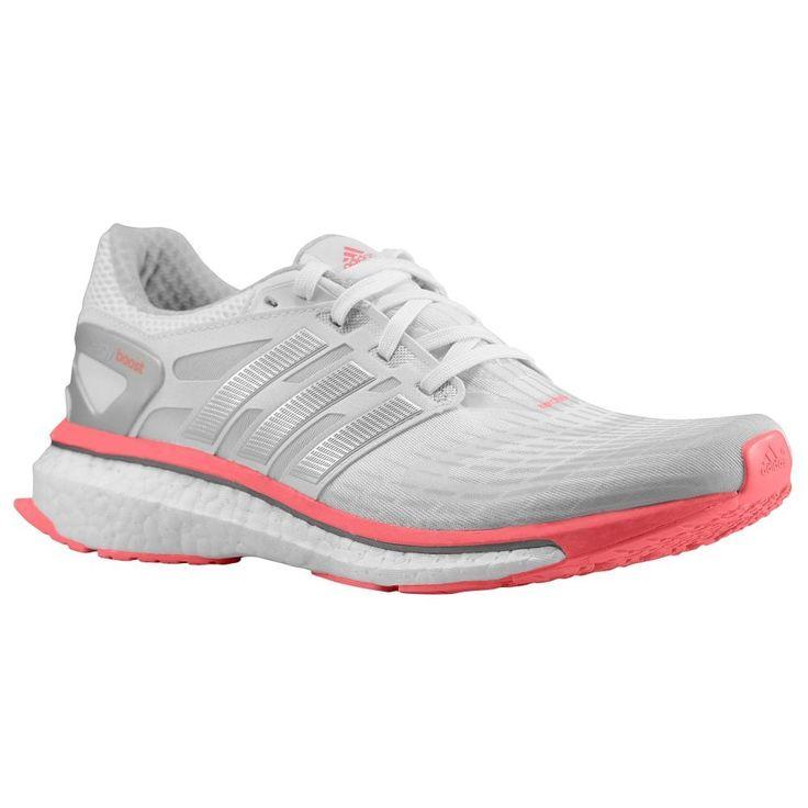 n2sneakers - adidas Energy Boost Women's White/Metallic Silver/Red Zest ,  $159.99 (. Running ShoesAdidasMetallicRacing ...