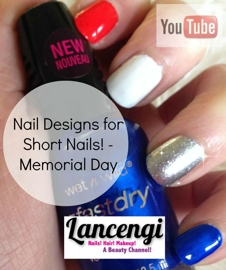 32 best Independence Day nails images on Pinterest | Easy nail art ...