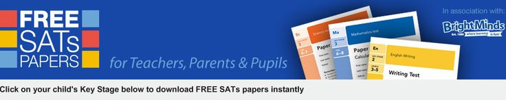 SATs Papers   1999-2013 Download FREE SATs Papers   KS2 Maths SATs Papers and KS2 English Papers  