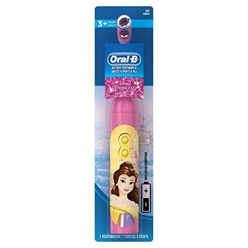 NEW Oral B Pro Health 3+ Children Disney Princess Kids Electric Toothbrush SHIPS #OralB