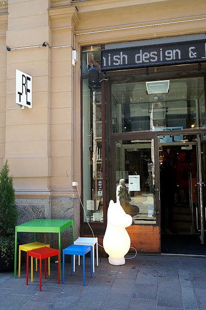 KUUNSÄTEESSÄ: TRE  finnish design shop