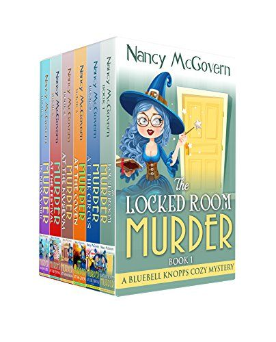 The Bluebell Knopps Witch Cozy Mystery Box Set Paranormal Mysteries Books By McGovern Nancy