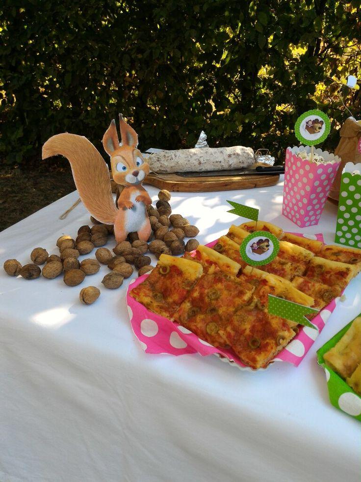 Birthday Party masha and the bear theme