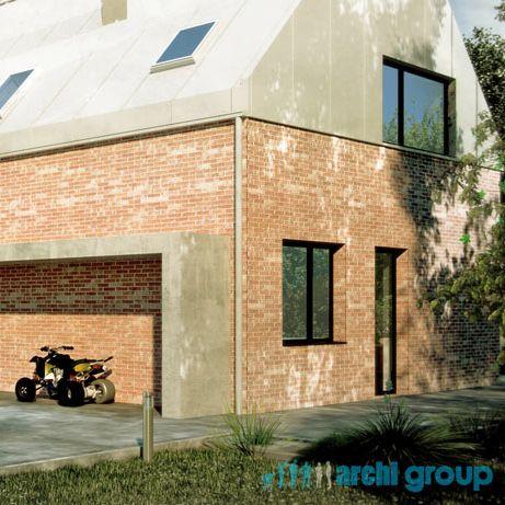 House design, POLAND - archi group. Projekt domu jednorodzinnego.