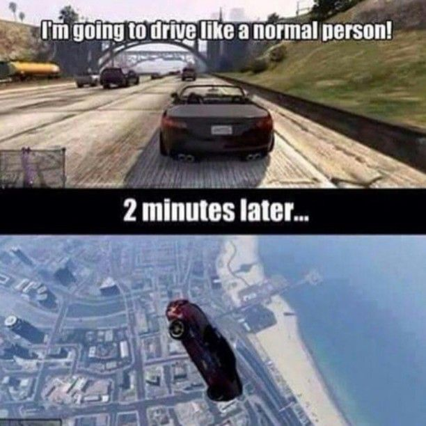 playing GTA 5 like..
