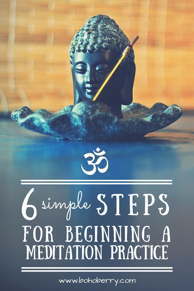 Meditation is quickly becoming more mainstream, and the benefits are proven. Here are 6 simple ways to begin your own meditation practice. Bonus: My favorite free apps for meditation!