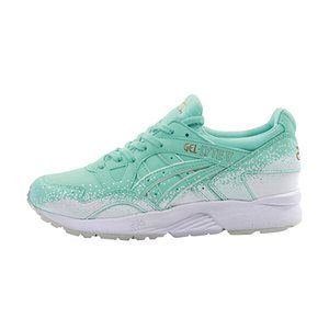 Ice blue and white trainers Asics