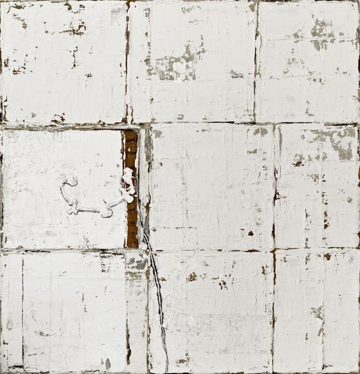Linssen,  Sans Titre  .Huile sur toile 155x150 cm