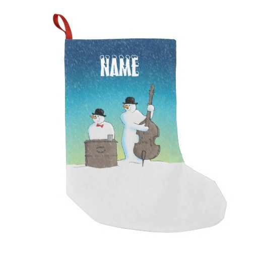 Below Zero :- Two jolly snowmen pay tribute to a comedy duo that have endured for many years. You can easily choose which name you wish to have at the top of this Christmas stocking by typing in the template area. #christmas #xmas #seasonal #holidays #festive #instrument #doublebass #piano #busking #snowmen #music #comedy #laurelandhardy #stanandollie #tribute #parody #bullfiddle #pianola #organ #snowman #musicians