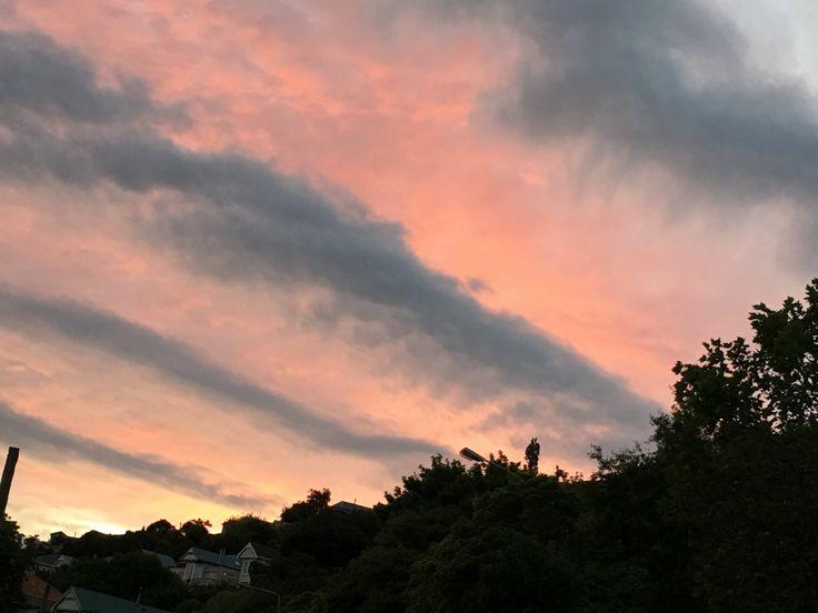 Lyttleton skies - Christchurch