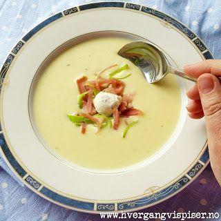 Hver gang vi spiser: Kremet potetsuppe med pastinakk og purreløk