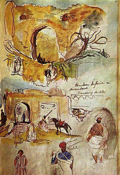 Delacroix Carnets