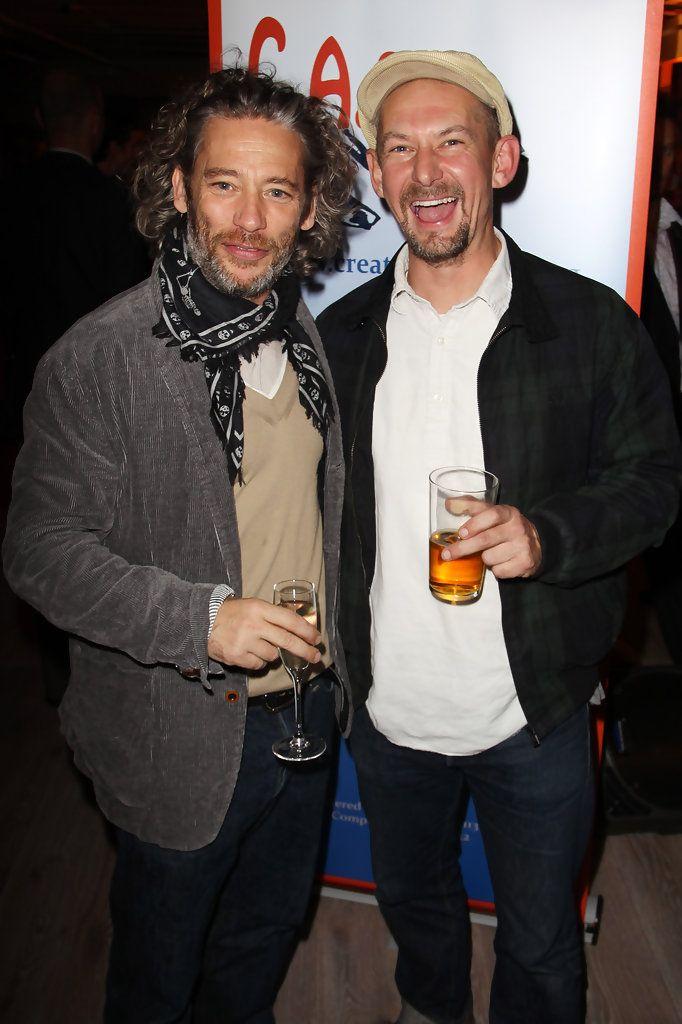 Dexter Fletcher and Ian Hart