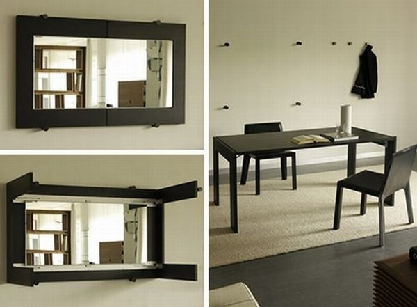 Mirror Fold Out Dining Room Table Diy For The Home Pinterest