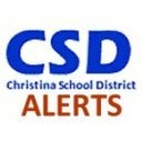 @CSDalerts - CSD Alerts regarding School Closings, Delays, Early Dismissal & other urgent info from Christina School District