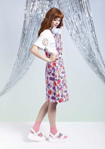 I Sell Seashells Overall Dress – WND.LND