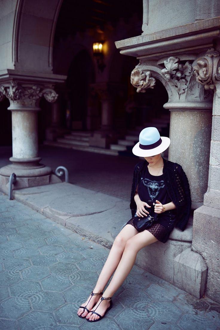 otiuMModa: El sombrero sirve para algo más que protegernos del sol