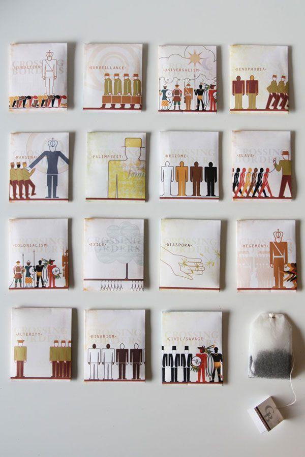 Post-Colonial Tea Bags   34 Coolest Food Packaging Designs Of 2012