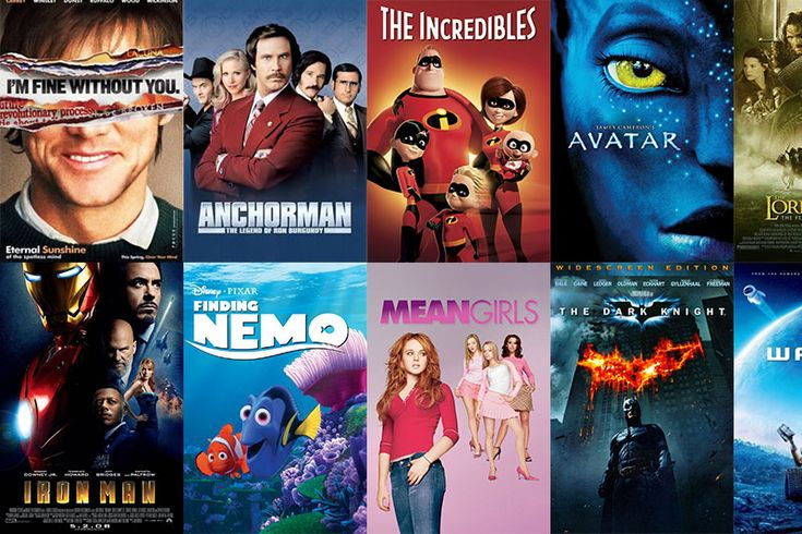 Anyone here love movies?! From superheroes, to love stories, the 2000s were filled with movies that will definitely pass the test of time! Which are your favorites?  #movie #movienight #2000s #popcorn #friday #popular #history
