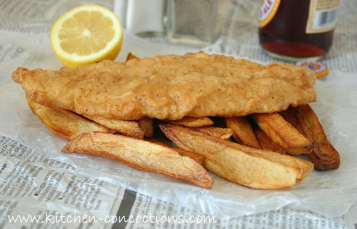 how to make fish and chips without beer