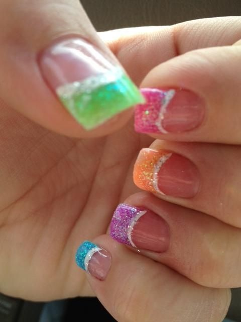 SpRiNg #Nails  | See more at http://www.nailsss.com/colorful-nail-designs/2/