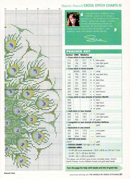 Gallery.ru / Photo # 11 - The world of cross stitching 061 August 2002 - WhiteAngel