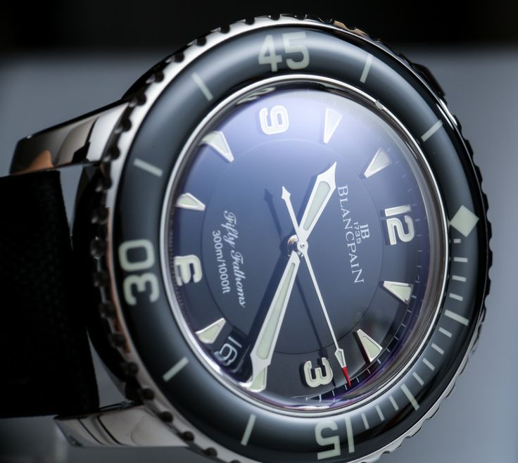"""Blancpain Fifty Fathoms Automatique 5015 Watch Review - See Ariel's review, photo gallery, and video on aBlogtoWatch.com """"Years ago when I first got into timepieces I stumbled upon a previous generation Blancpain Fifty Fathoms watch and fell in love it with.... I now have the pleasure of offering a hands-on review of a deliciously designed Swiss diver with a great design, great character, and matching 'great' price..."""""""