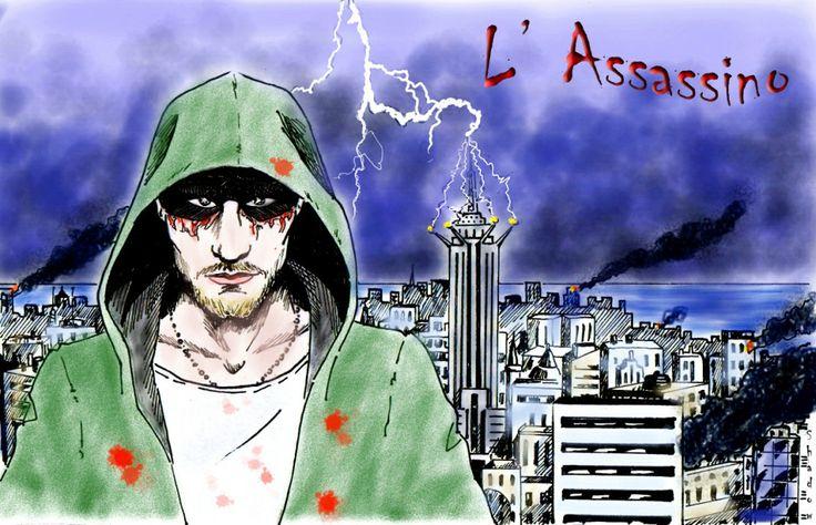 L'assassino: Arrivo Ad Habury.... | Mithril ArtMithril Art