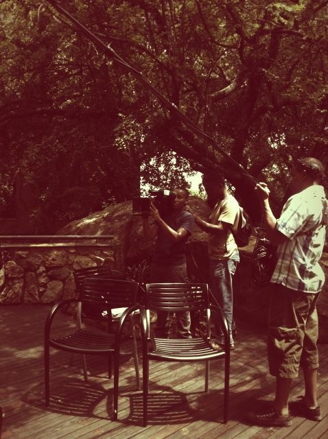 Behind the Scenes of a TV Series on Sabc 2, I got to be interviewed about Web design, Maze Balls