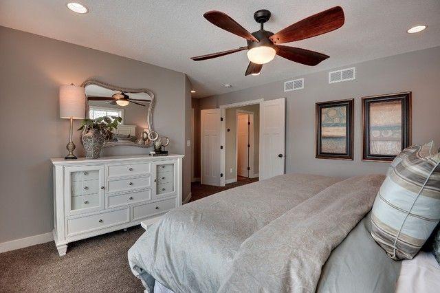 Sherwin Williams Requisite Gray Walls in the Bedroom - Interiors ...