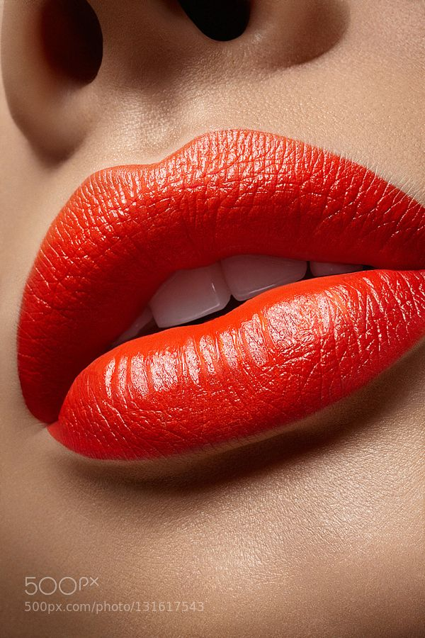 Popular on 500px : Lips close up by sbourson