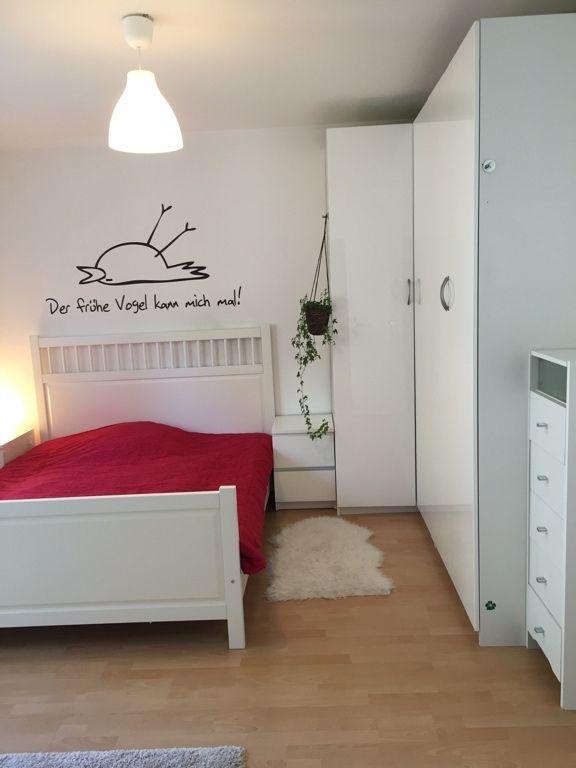 best 25+ wandtattoo schlafzimmer ideas on pinterest | wandtattoo ... - Schlafzimmer Wandgestaltung Mit Weien Mbeln