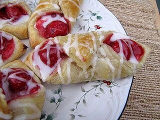 Easy Cherry Cream CheeseDanish!