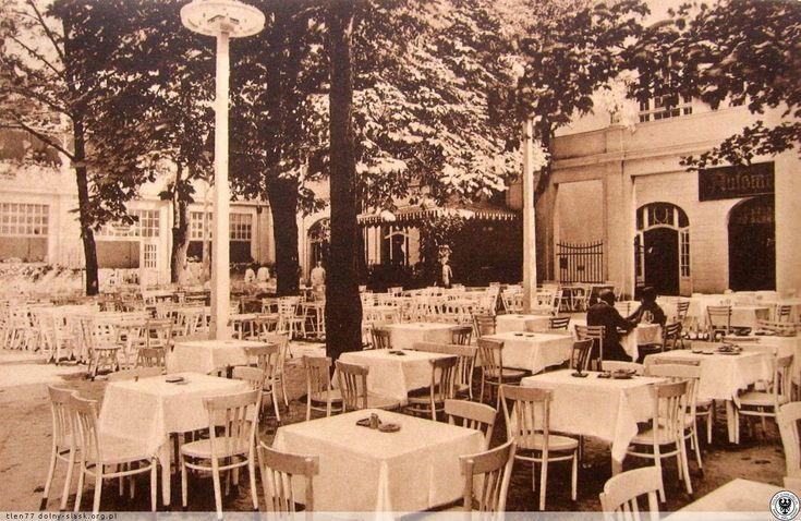 Taras i ogród restauracji Vier Jahreszeiten