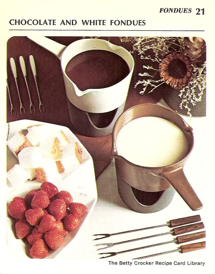 Best Things To Dip In White Chocolate Fondue