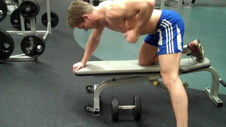 How To: Dumbbell Bent-Over Row, via YouTube.