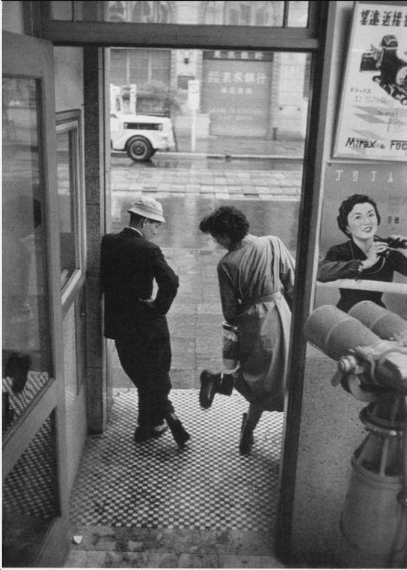 1950年代のデート、東京 1950s  Tokyo