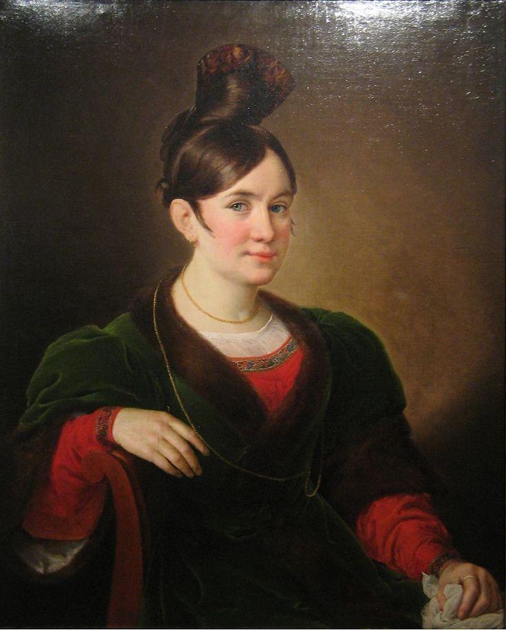 Vasily Tropinin - Portrait, c.1834