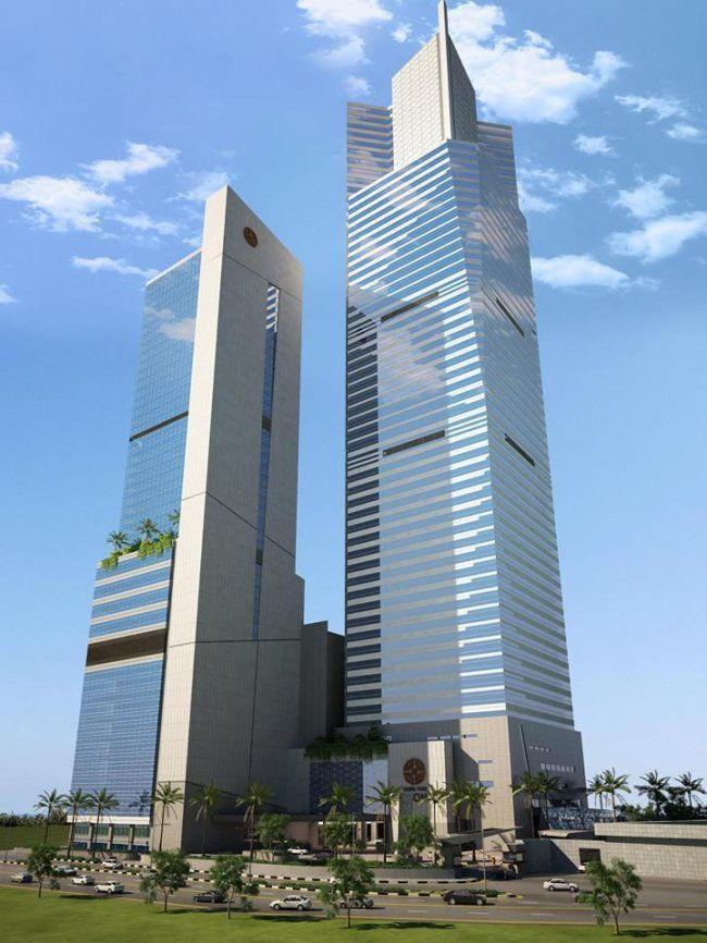 Bahria Icon #Tower in #Karachi #Pakistan #Asia