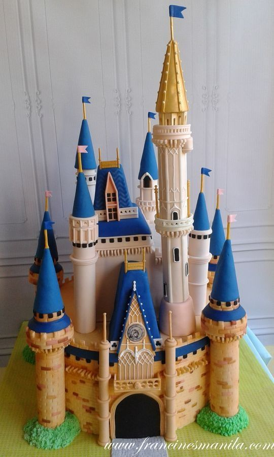 Pleasing I Want To Live In This Cinderella Castle Cake In 2020 Disney Funny Birthday Cards Online Fluifree Goldxyz
