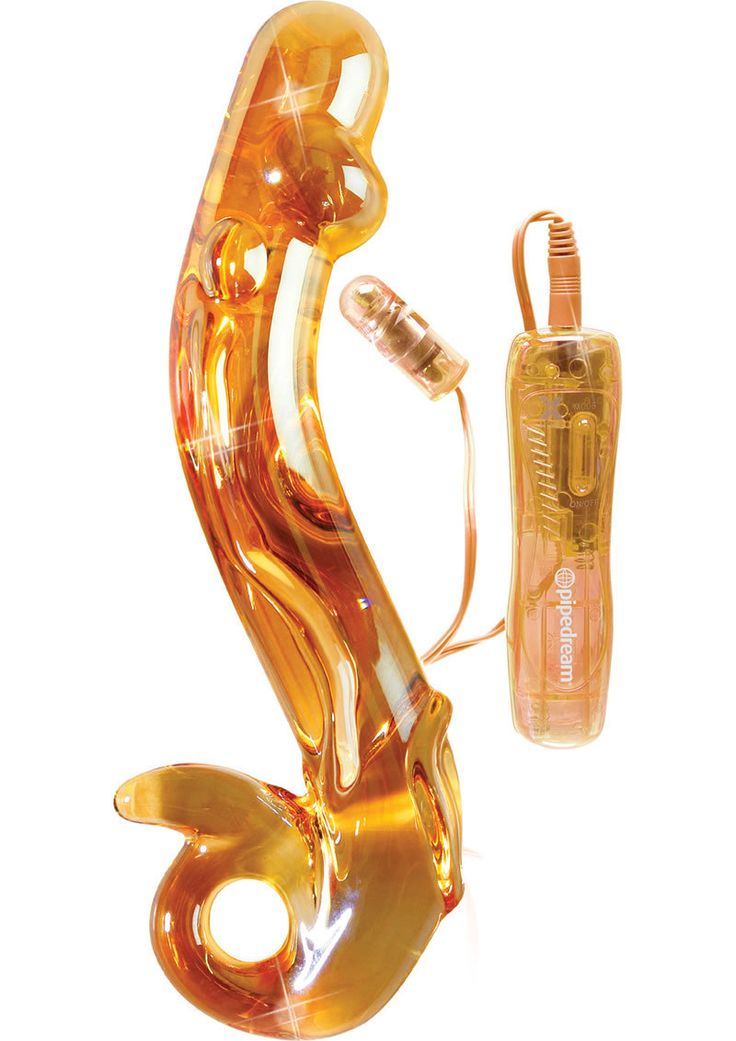 Icicles No 35 10 Function Glass Massager Peach from www.mysextoydeals.com