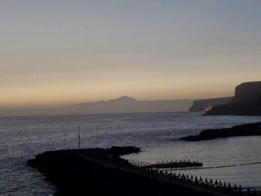 Tenerife from  Playa Amadores