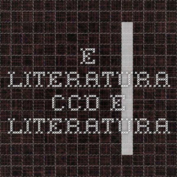 E-LITERATURA - CCD E-Literatura