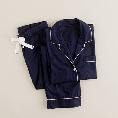J Crew vintage pajamas, with monogram of course. This is all I want right now.
