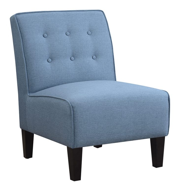 TWO IN STOCK  Robbie Blue Accent Chair  23 2L x 30 3W x 33 8. 12 best Village Life images on Pinterest