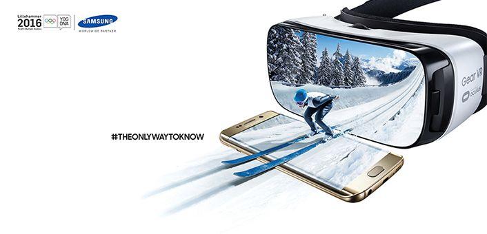 Samsung bringt die olympischen Jugend-Winterspiele 2016 live auf die Gear VR