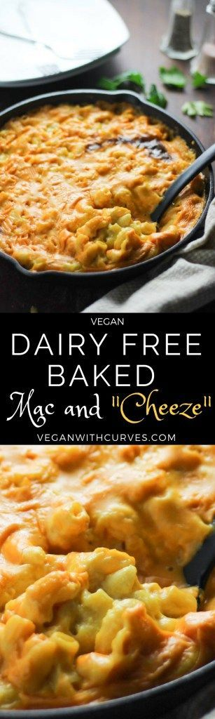 Dairy Free Vegan Mac and Cheese. Perfect as a side dish for Thanksgiving