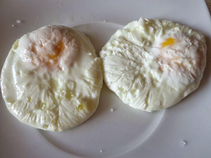 Prato Caseiro: Ovos escalfados